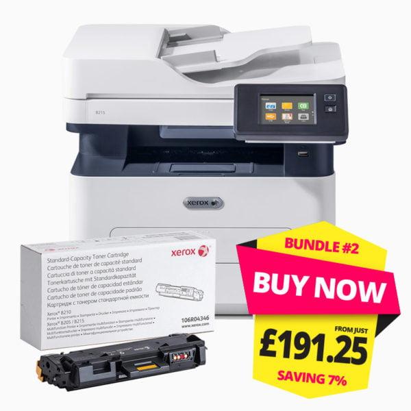 Xerox B215 Multifunction Printer Bundle-2